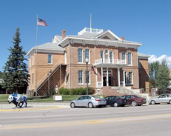 Courthouse, Custer, South Dakota, US 2015 - Custer