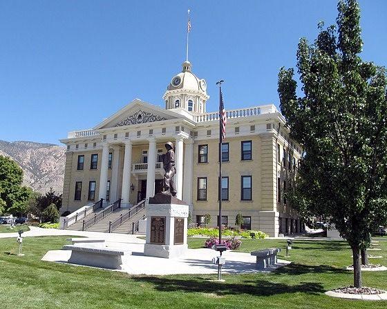 Courthouse, Brigham City, Utah, US 2015 - Brigham City