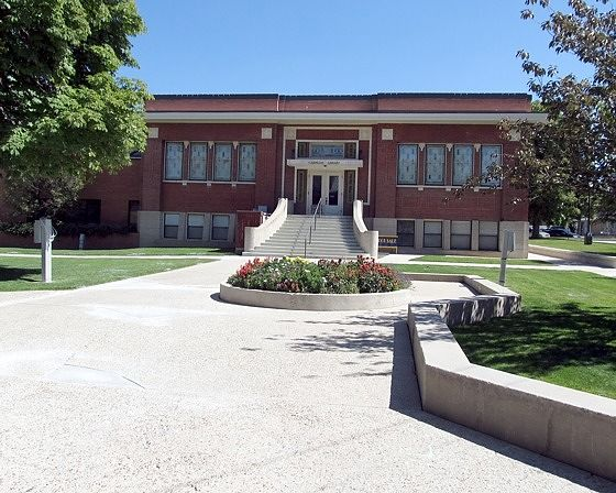 Library, Brigham City, Utah, US 2015 - Brigham City