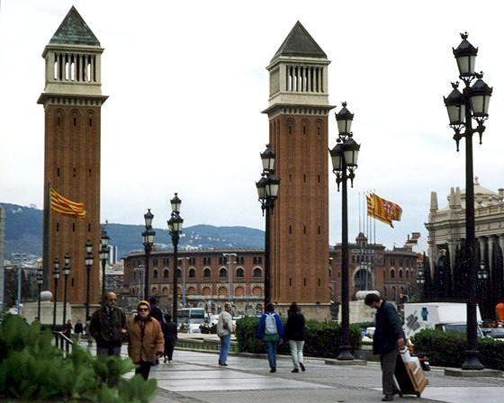 Torres Venecianes, Barcelona, Spain 1998 - Barcelona
