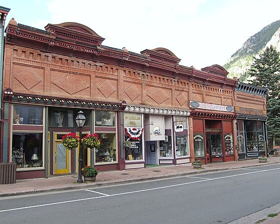 Kneisel and Anderson Store, Georgetown, CO 2015 - Georgetown