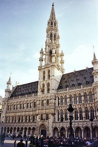 Hotel de Ville, Brussels, Belgium 2003 - Brussels