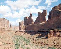 Park Ave, Arches National Park, Utah, US 2015 - Arches National Park