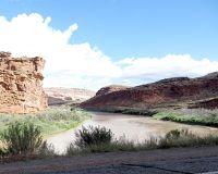 Colorado River, UT Route 128, Utah, US 2015 - Dewey