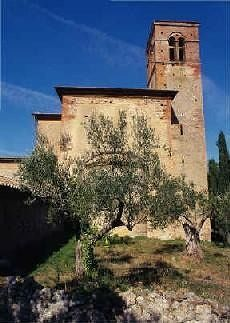 Monastery of Sant'Anna in Camprena - Pienza