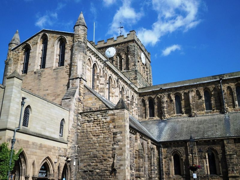 Hexham Abbey - more than worth a visit!