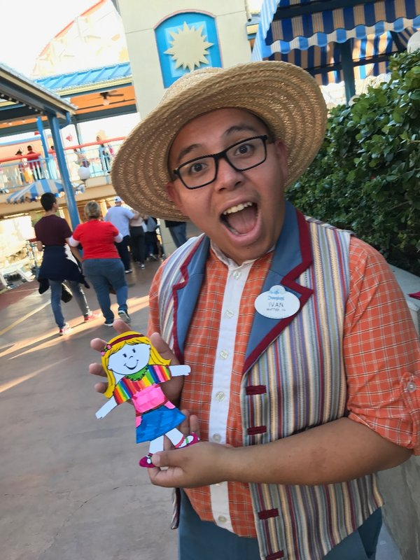 Favorite cast member of the day!