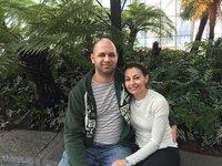 Hilton & I at Sky Gardens