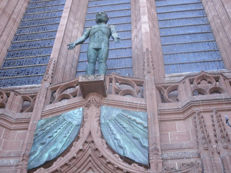 Exterior of Liverpool Cathedral