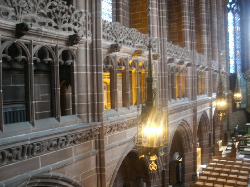Interior of Liverpool Cathedral
