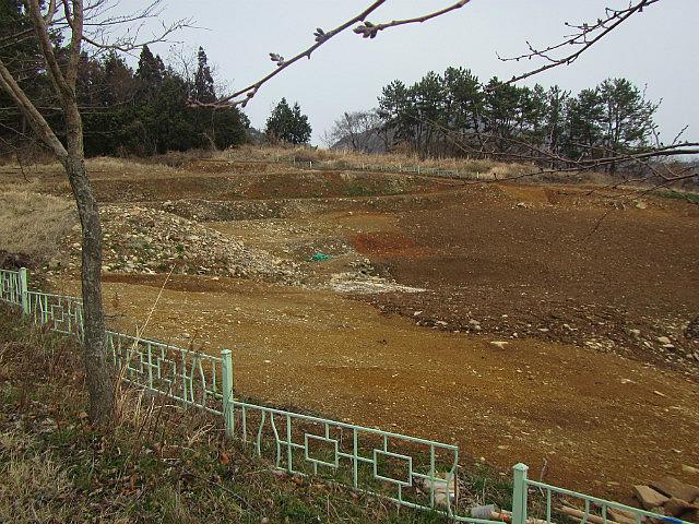 Excavating area