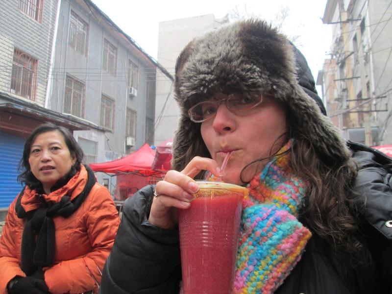 Me vs pomegranate juice