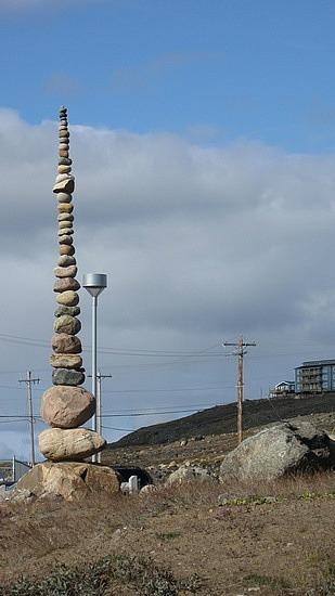 Cool sculpture at Arctic College