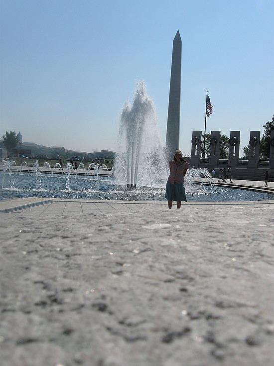 Me and war memorial