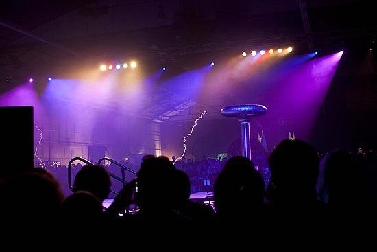 Crazy light show