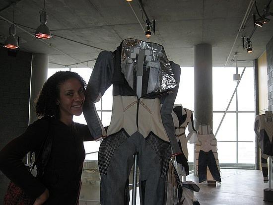 Ebony and fashion design