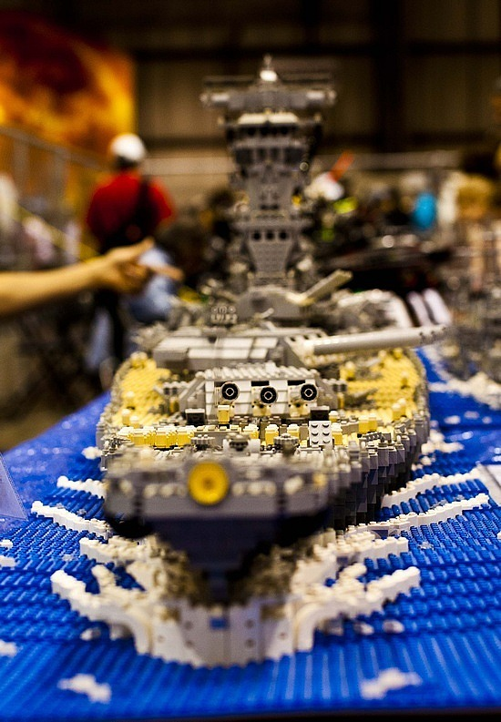 A Lego ship