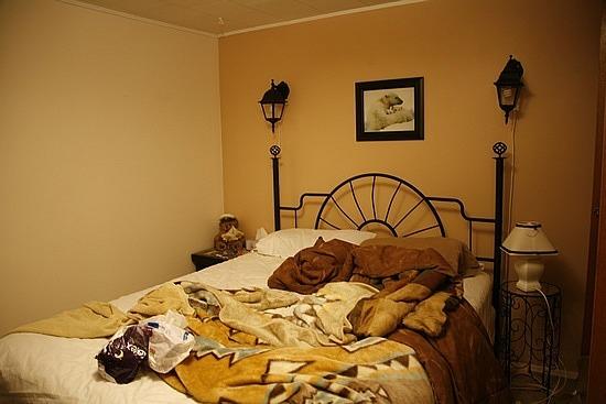 The teddy bear room