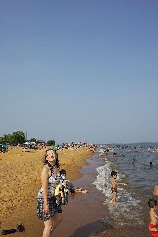 Me vs. the beach