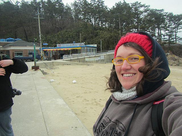 Me on Seonyudo beach