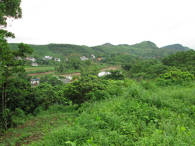 The countryside around Tien Yen