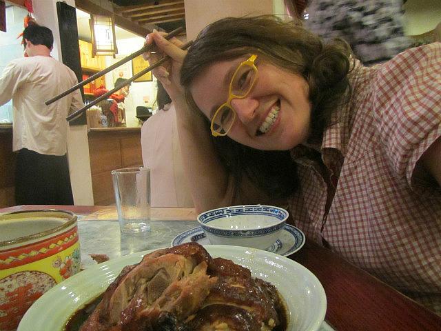 Me vs. Nanjing duck