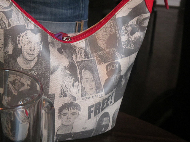 Boy George purse
