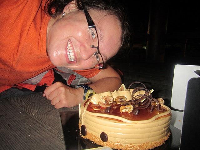 Me vs. birthday cake