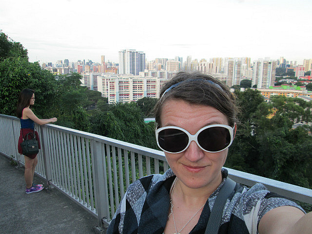 Me on the top of Mount Faber