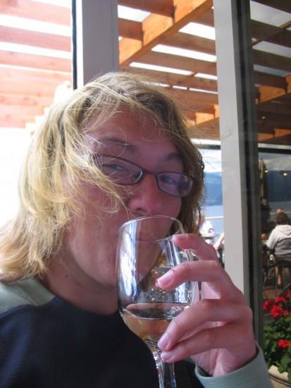 Me vs. Pinot Grigio