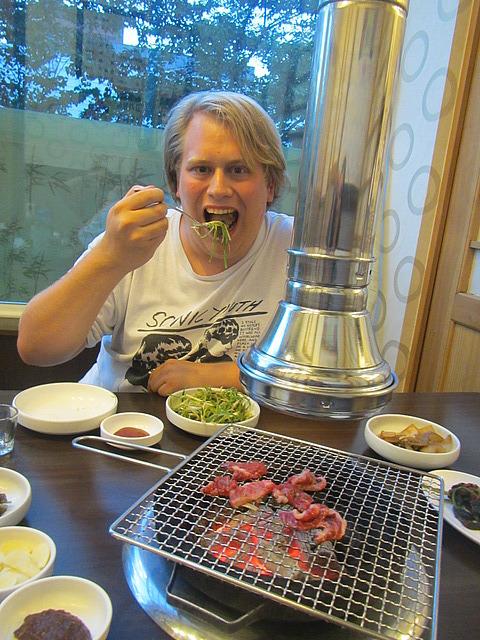 Dave vs. Korean barbecue
