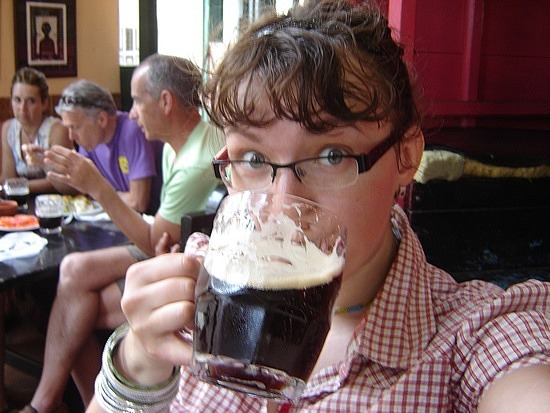 Me vs. cerveza negre