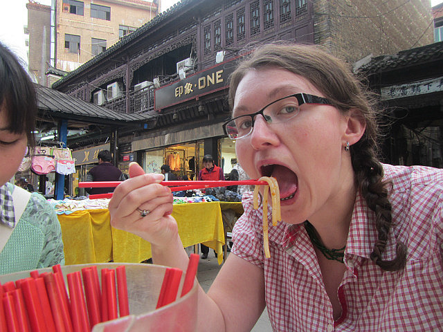Me vs. Jingdezhen noodles