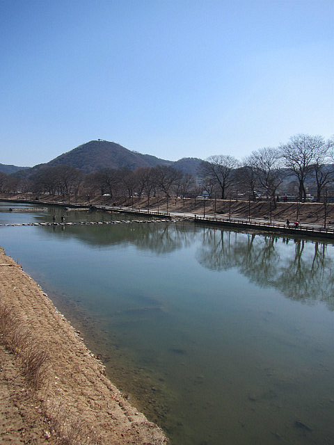 The river in Damyang