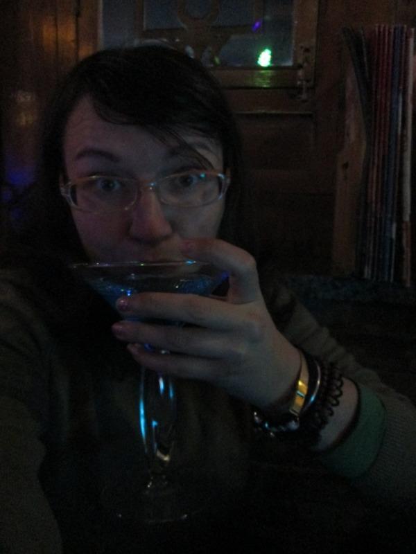 Me vs. weird cocktail
