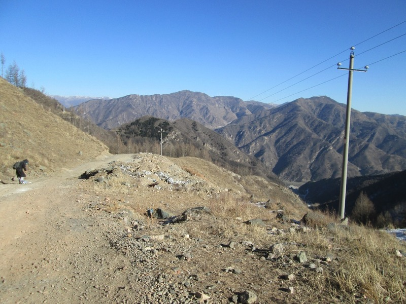 Hiking on Wutai Shan