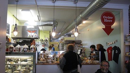 Dozen a cupcake bakery