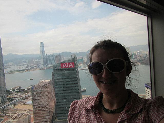Me on top of Hong Kong