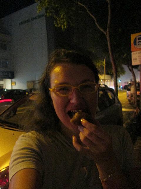 Me vs. dumpling