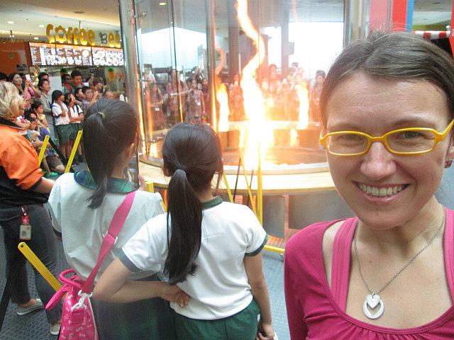 Me vs. FIRE TORNADO