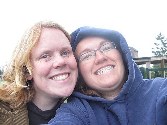 Tessa and me