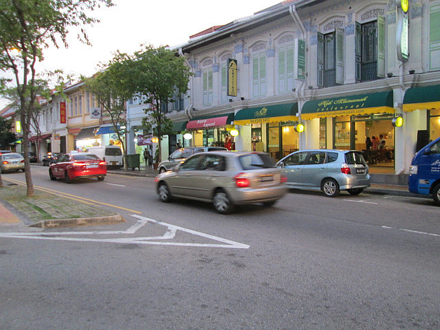 Storefronts on Joo Chiat Rd.