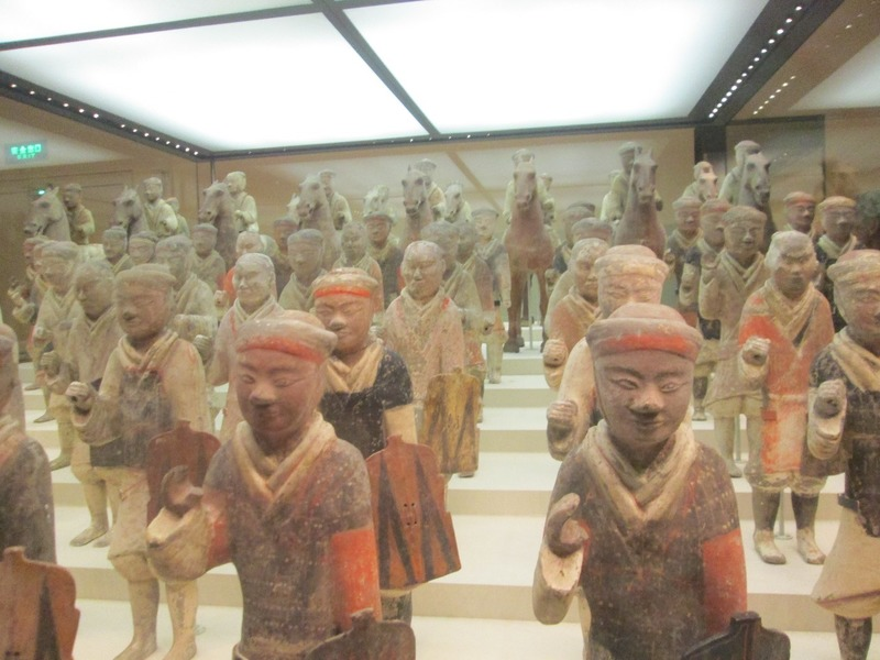 Mini terracotta warriors