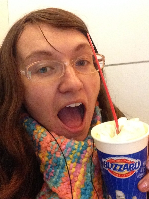 The durian cheesecake blizzard