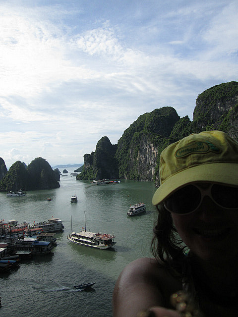 Me in Halong Bay