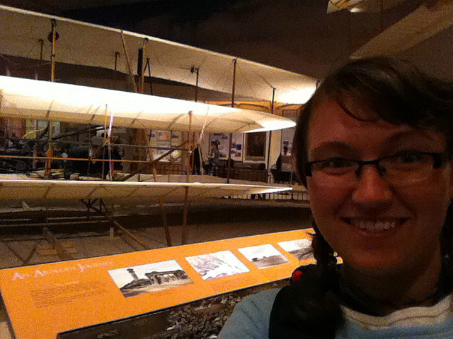 Me vs. Wright Brothers' plane