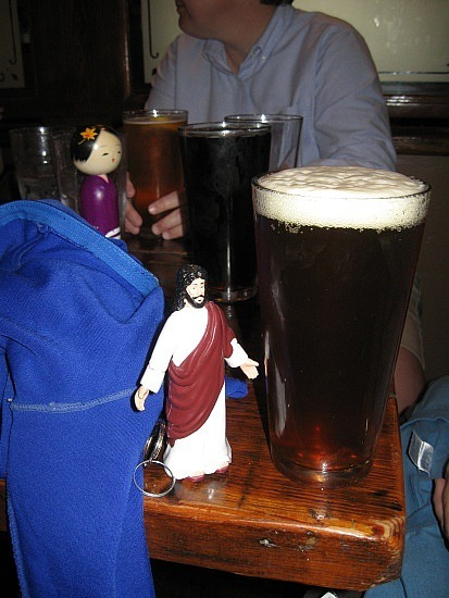 Jesus vs. beer