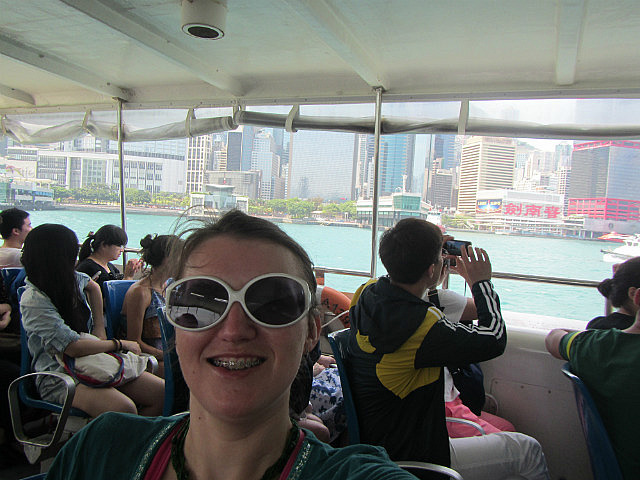 Ferry to Lamma Island