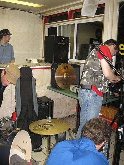 Band at King of Donairs