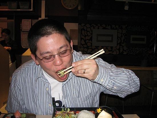 Steve vs. sushi